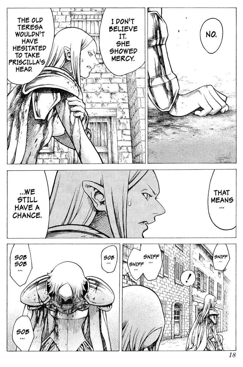 Claymore, Chapter 22 image 018