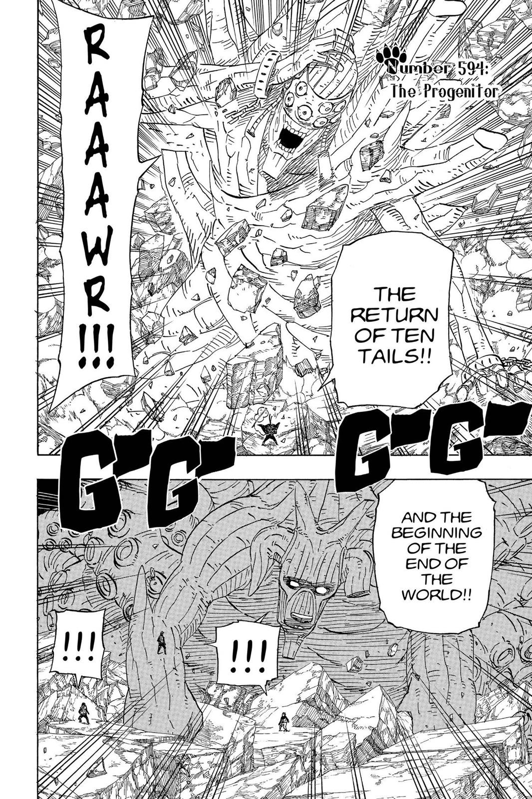 Naruto, Chapter 594 image 002