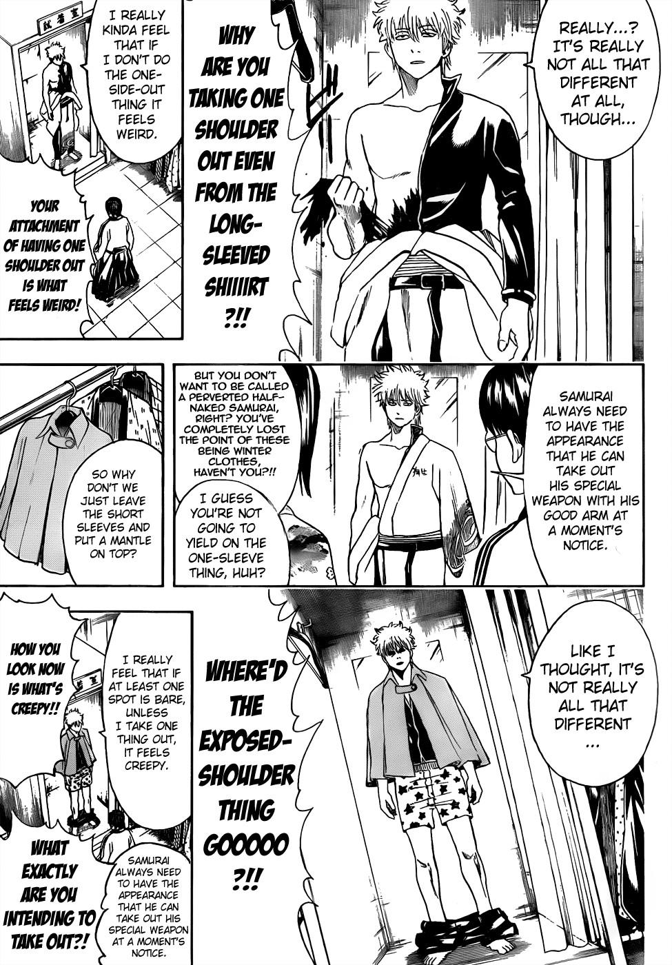 Gintama Chapter, 434 image 011