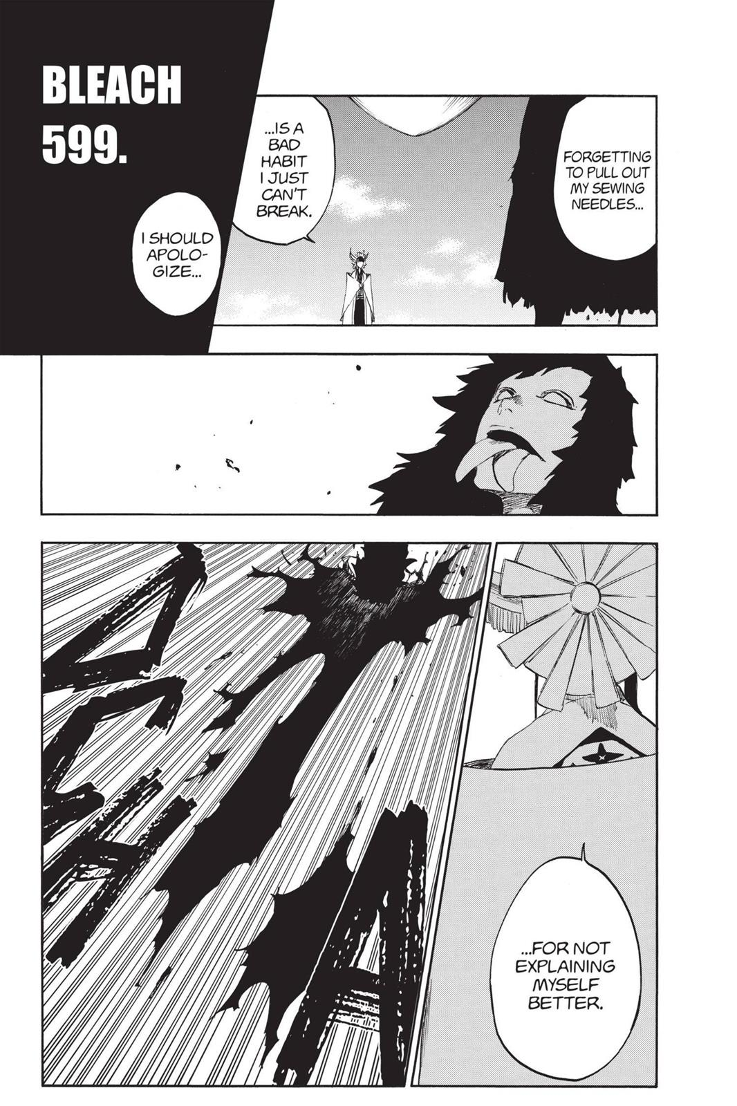 Bleach, Chapter 599 image 002