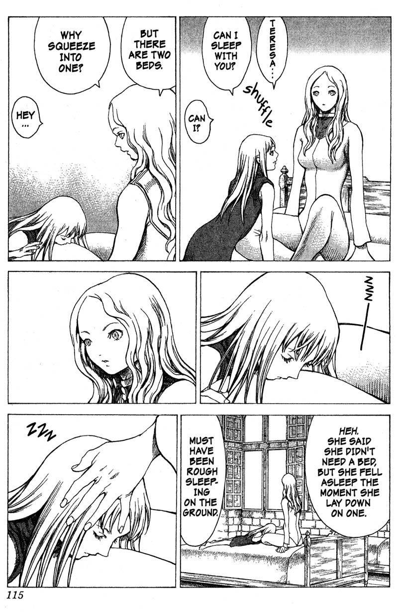 Claymore, Chapter 19 image 012