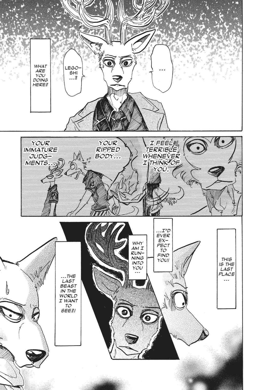 Beastars Manga, Chapter 66 image 003