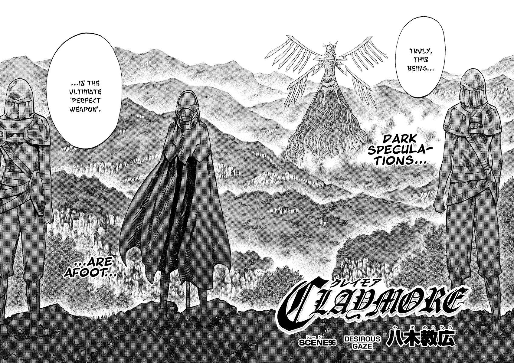 Claymore, Chapter 96 image 003