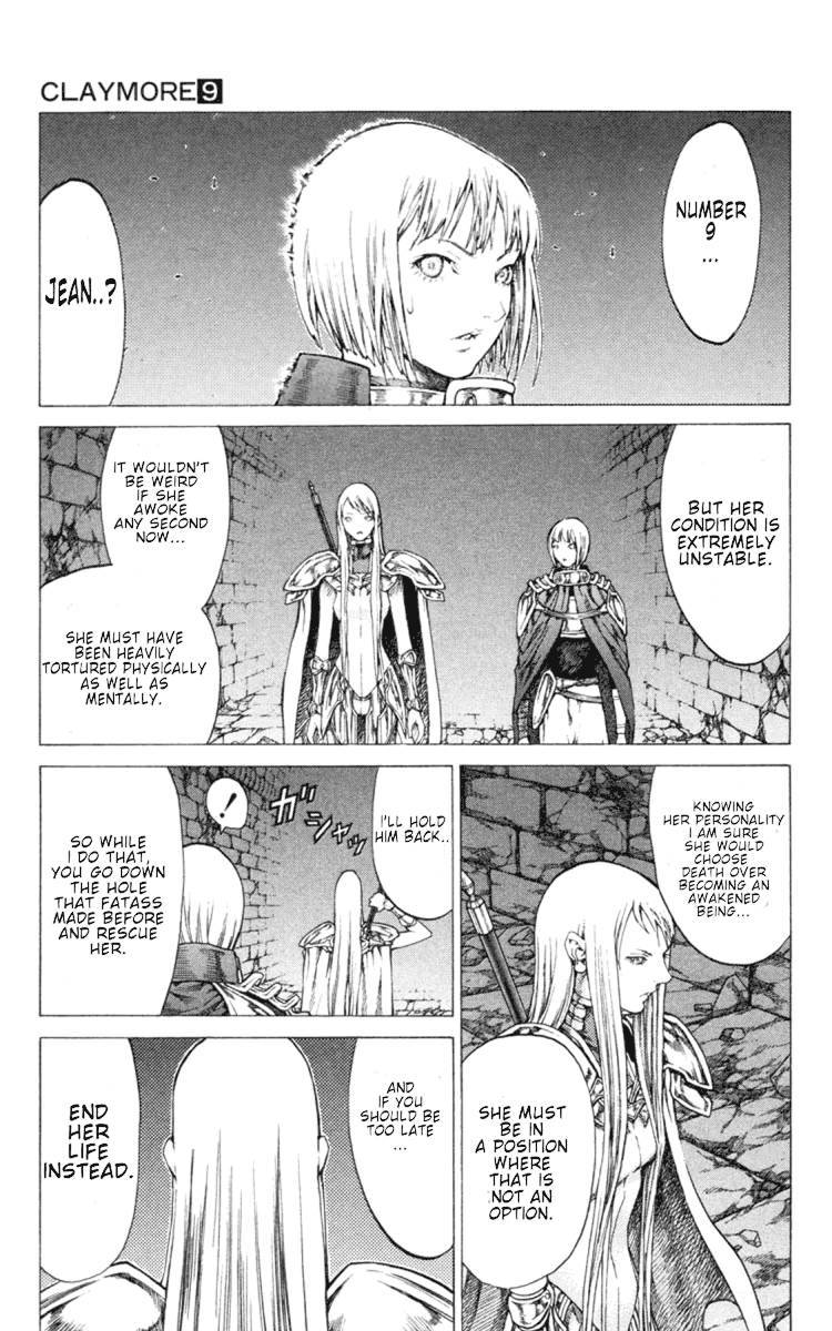 Claymore, Chapter 46 image 023