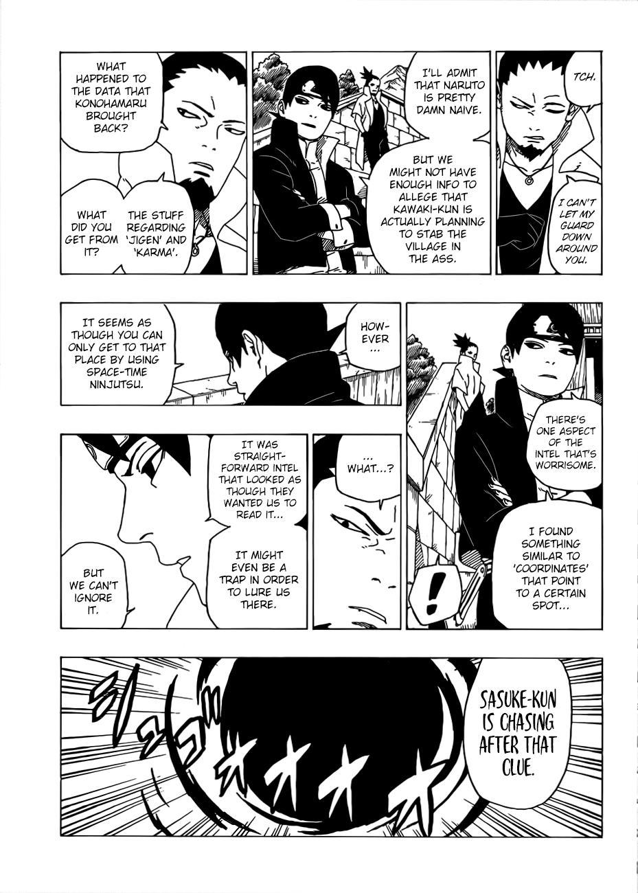 Boruto Manga, Chapter 35 image 014