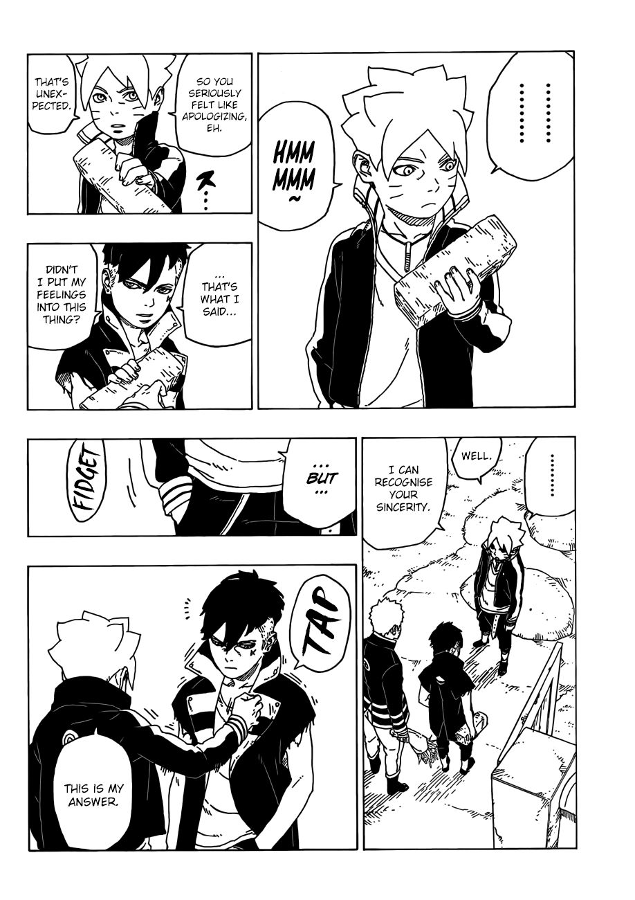 Boruto Manga, Chapter 28 image 035