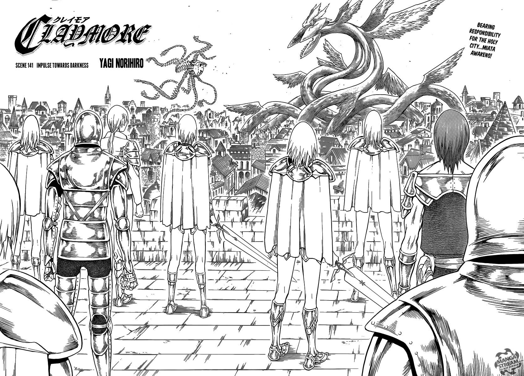 Claymore, Chapter 141 image 003