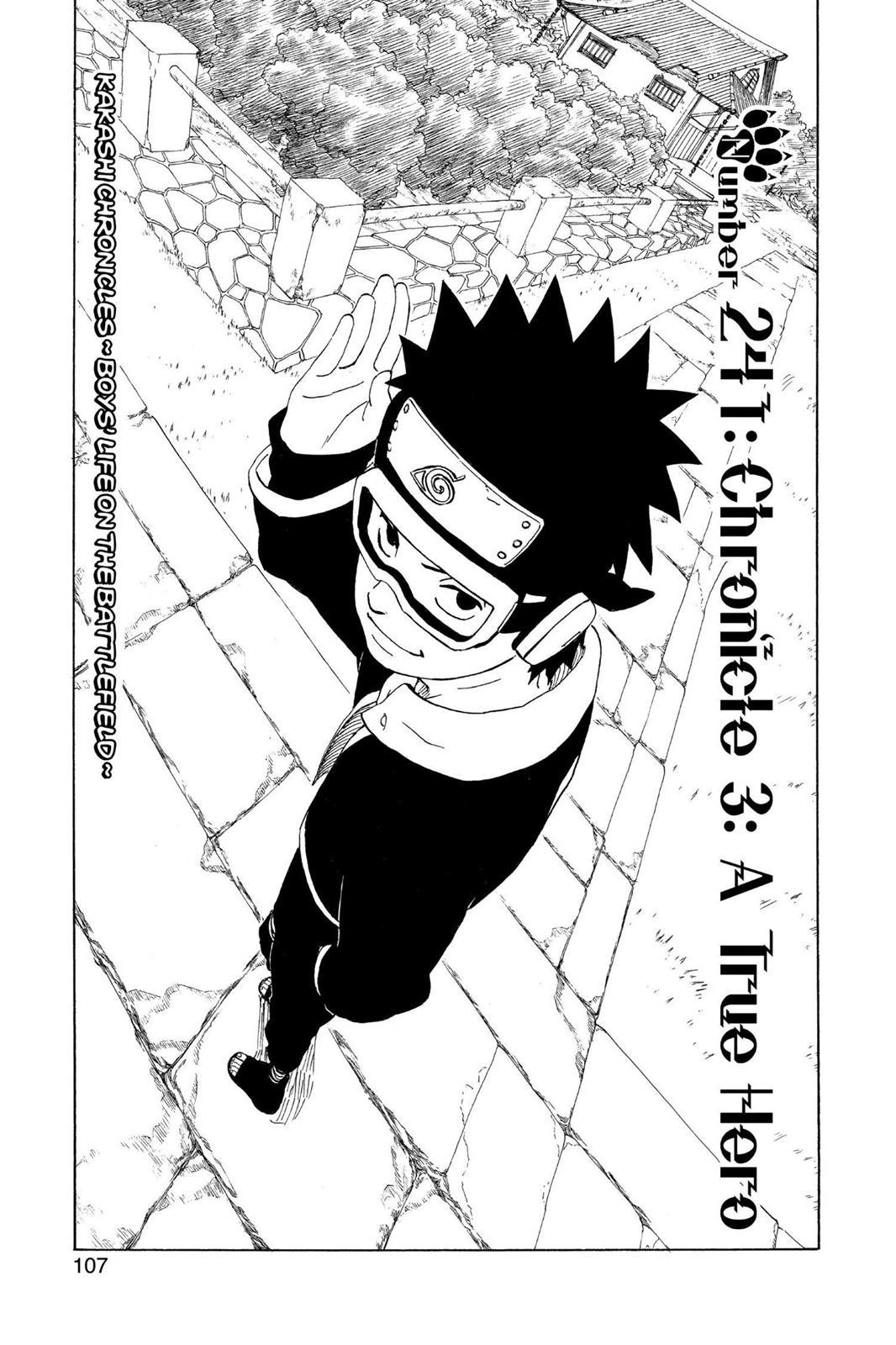 Naruto, Chapter 241 image 001