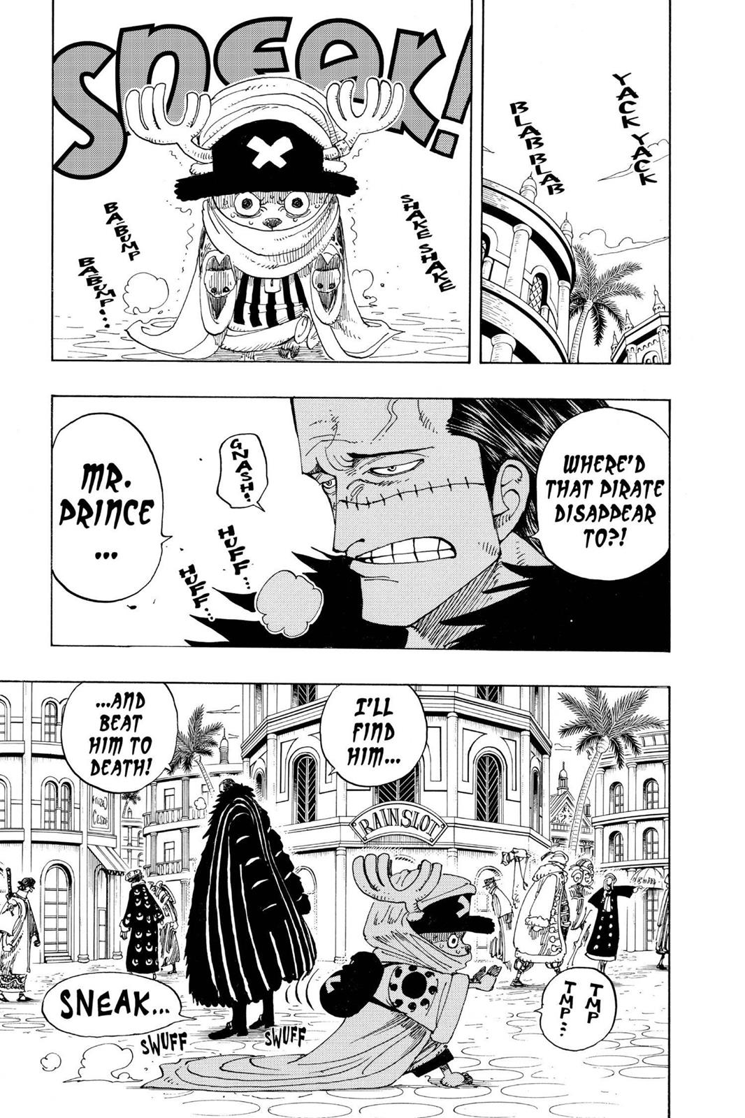 One Piece, Chapter 175 image 008