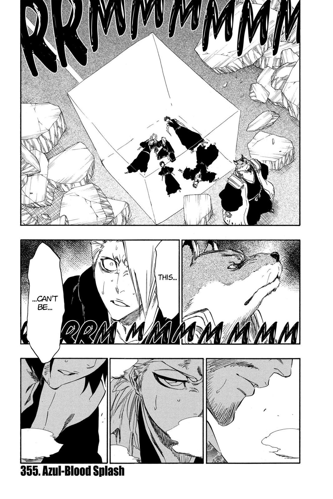Bleach, Chapter 355 image 001