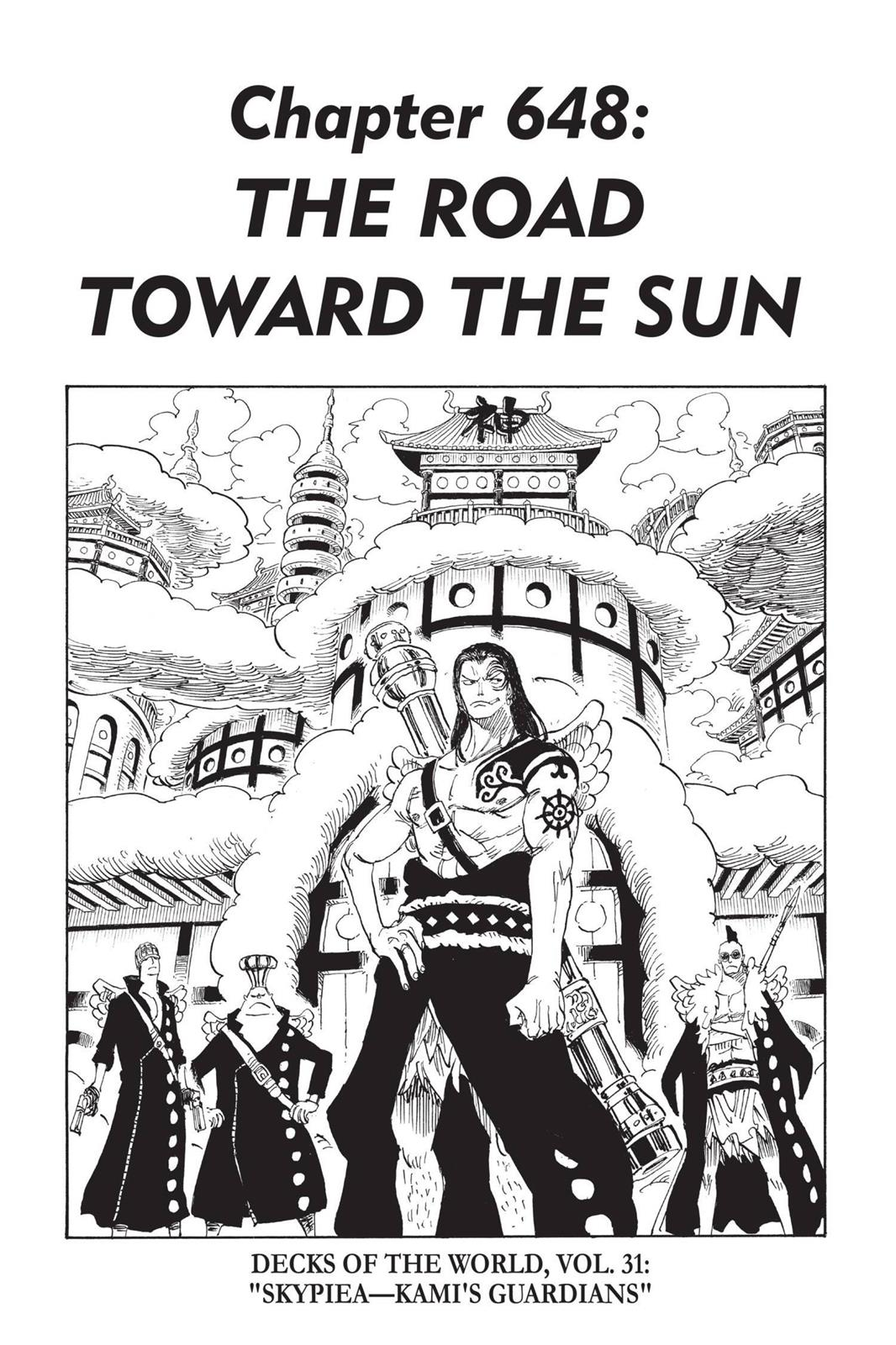 One Piece, Chapter 648 image 001