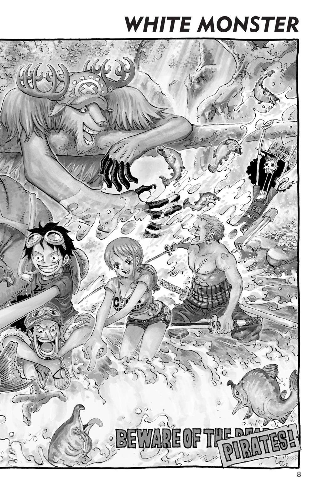One Piece, Chapter 764 image 009