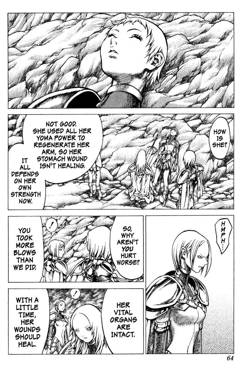Claymore, Chapter 29 image 025