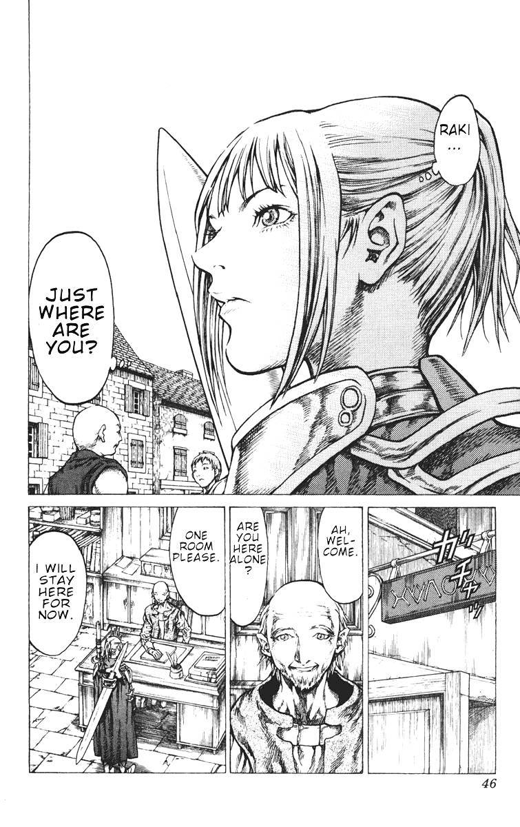 Claymore, Chapter 41 image 009