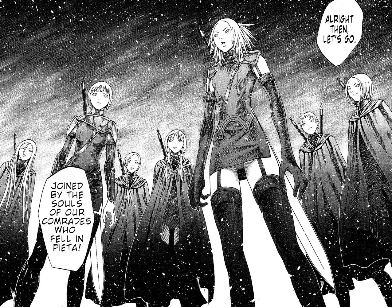 Claymore, Chapter 67 image 028