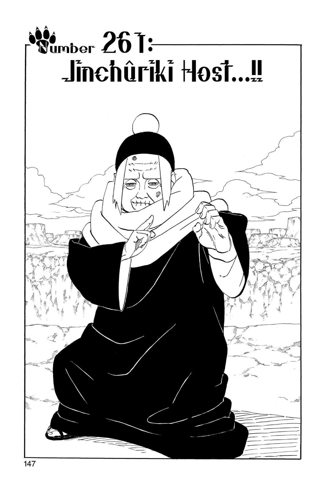 Naruto, Chapter 261 image 001