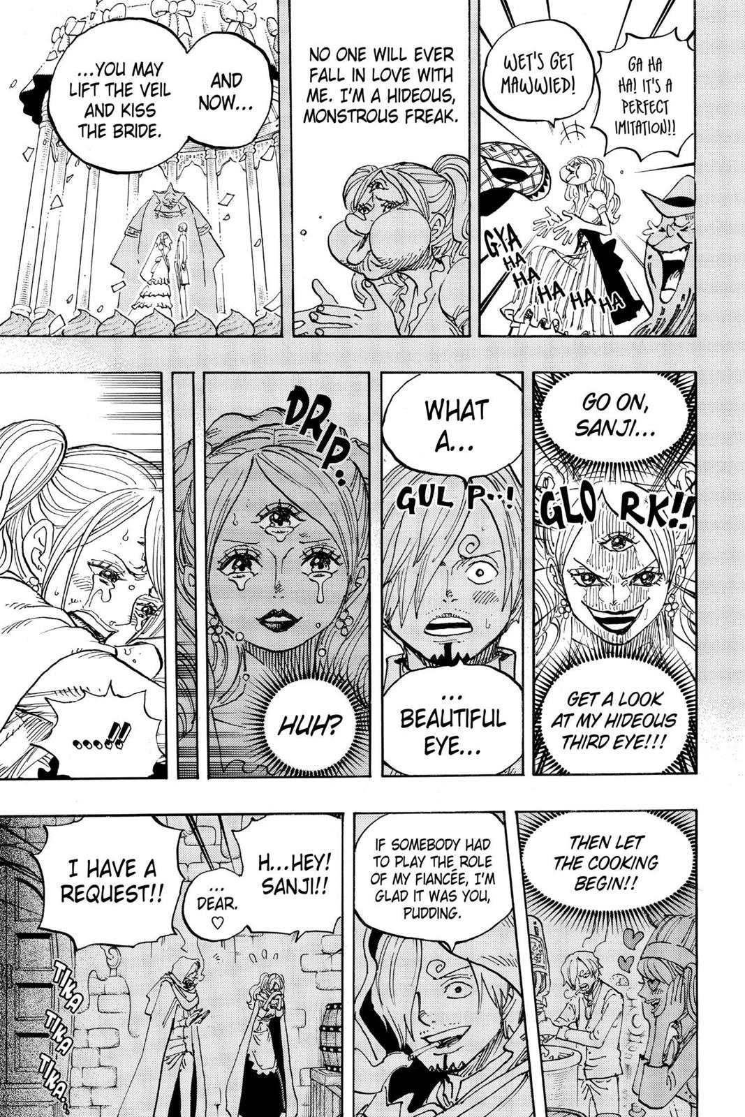 One Piece, Chapter 902 image 009