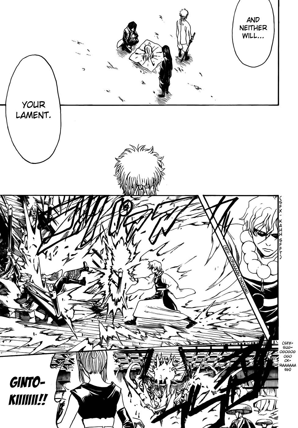 Gintama Chapter, 393 image 011