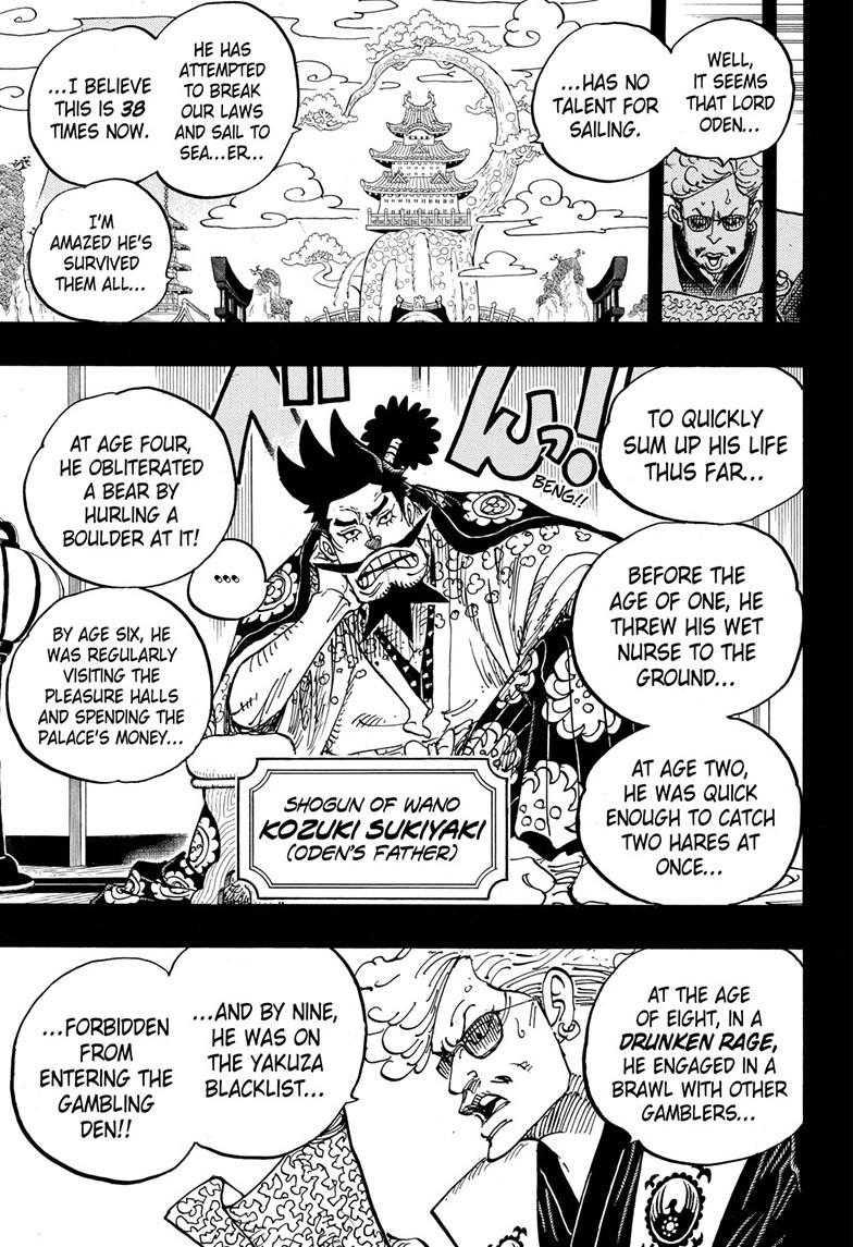 One Piece, Chapter 960 image 007