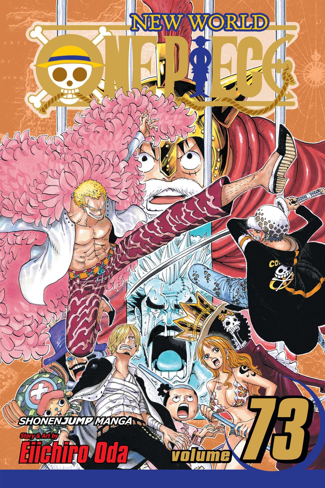 One Piece, Chapter 722 image 001