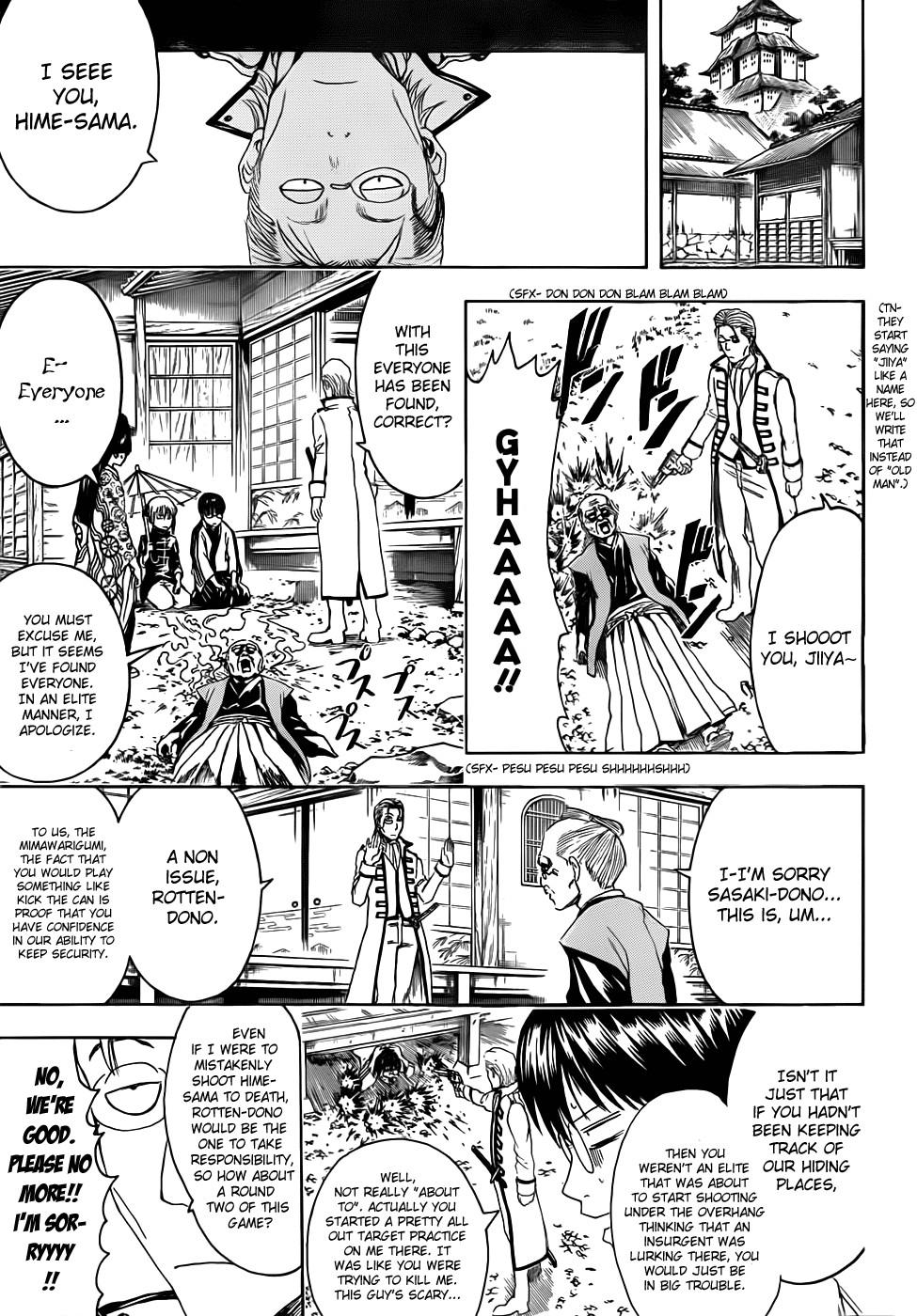 Gintama Chapter, 388 image 005