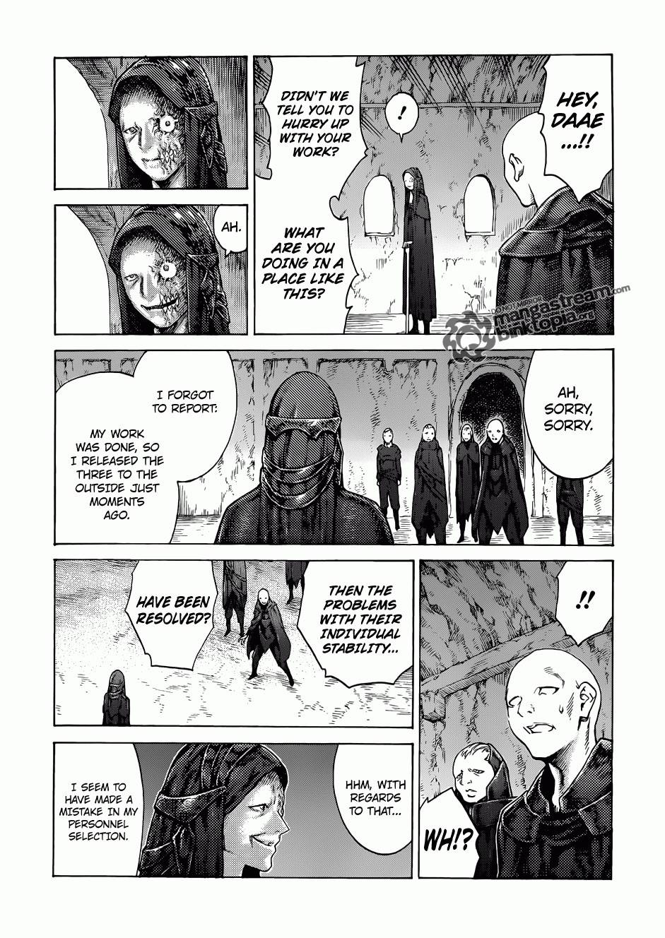 Claymore, Chapter 115 image 027