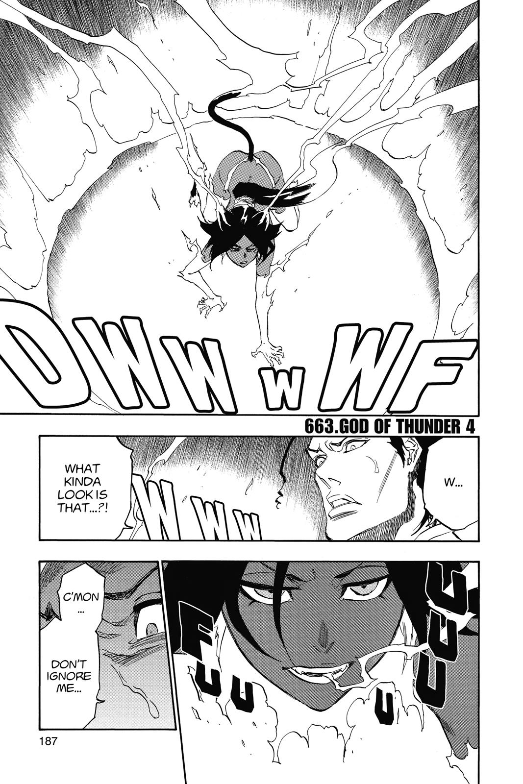 Bleach, Chapter 663 image 001