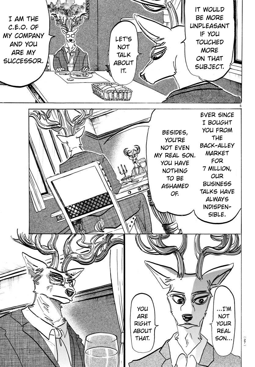 Beastars Manga, Chapter 157 image 005