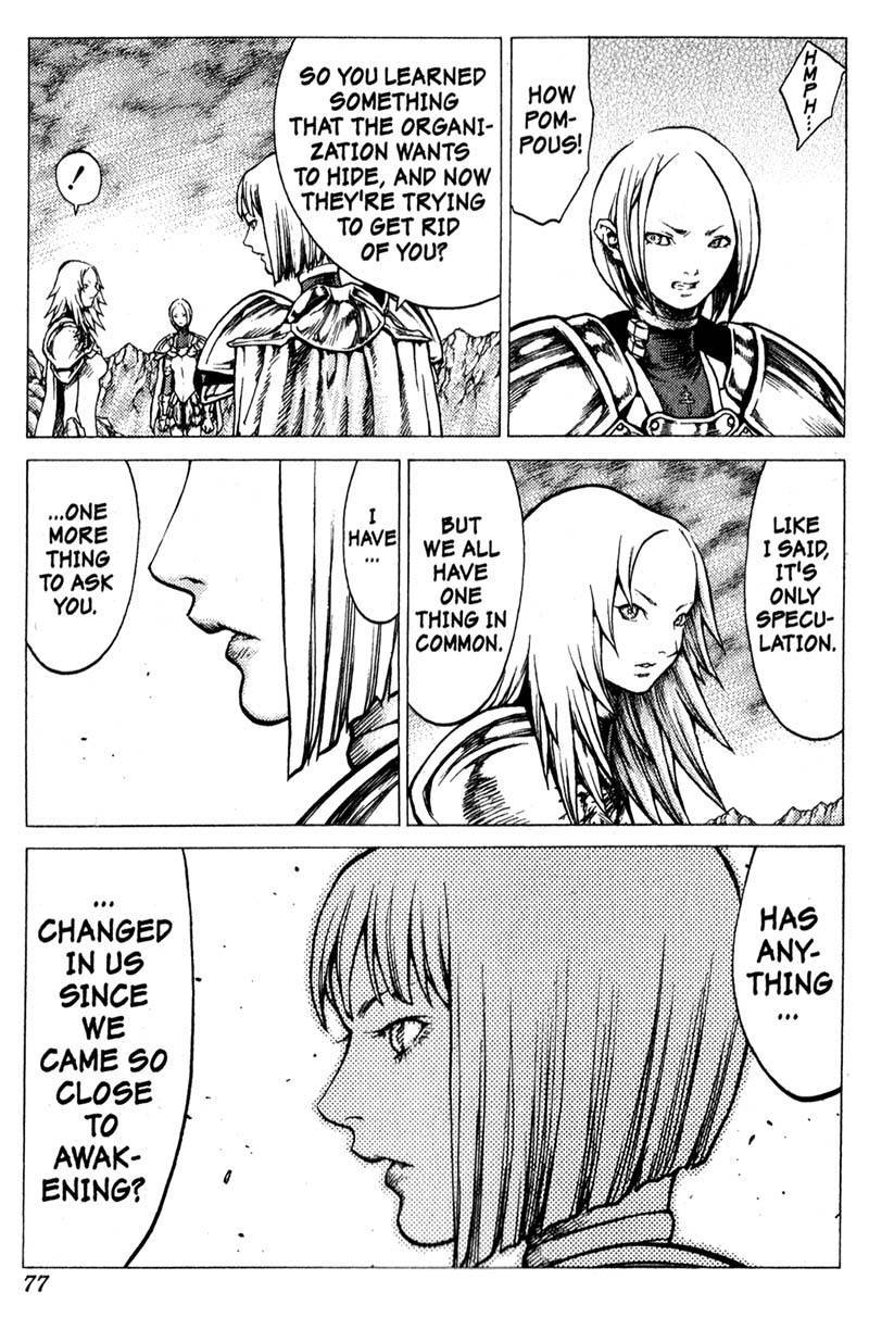 Claymore, Chapter 30 image 008