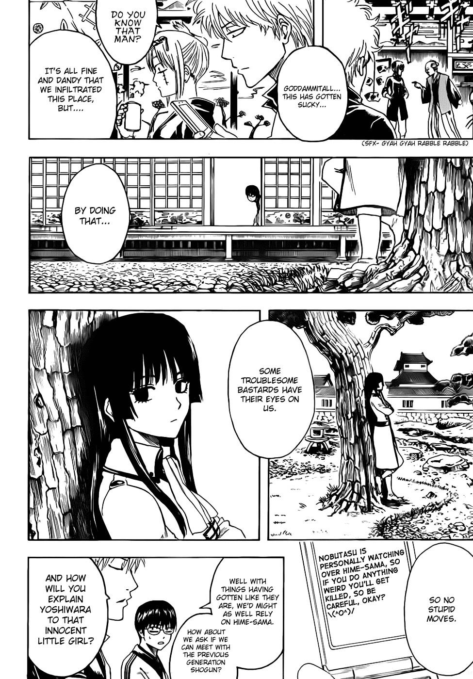 Gintama Chapter, 387 image 012