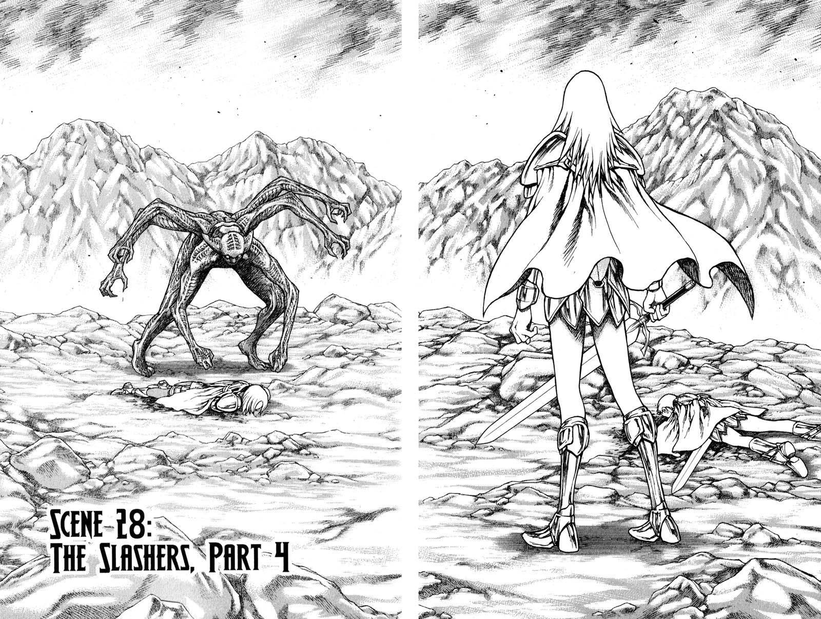 Claymore, Chapter 28 image 008