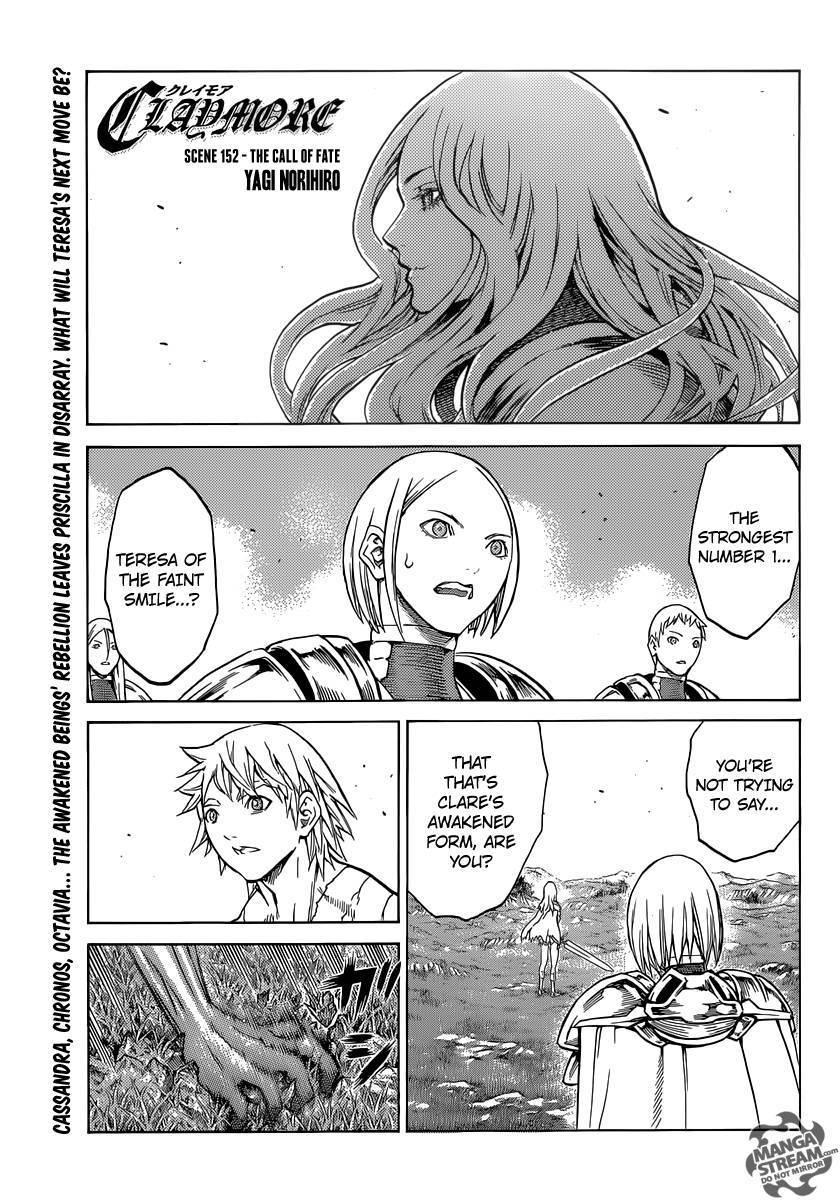 Claymore, Chapter 152 image 001