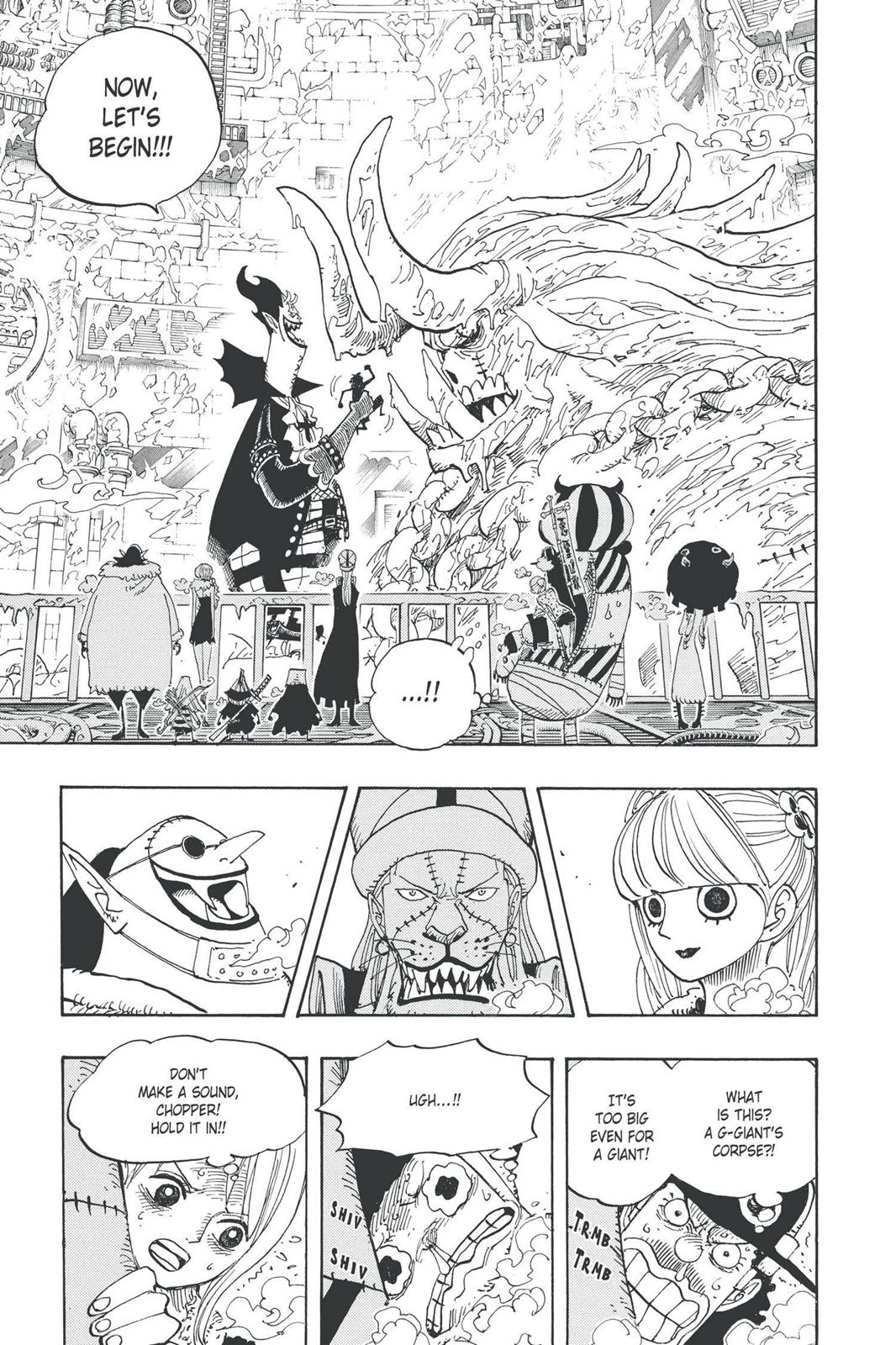One Piece, Chapter 457 image 004