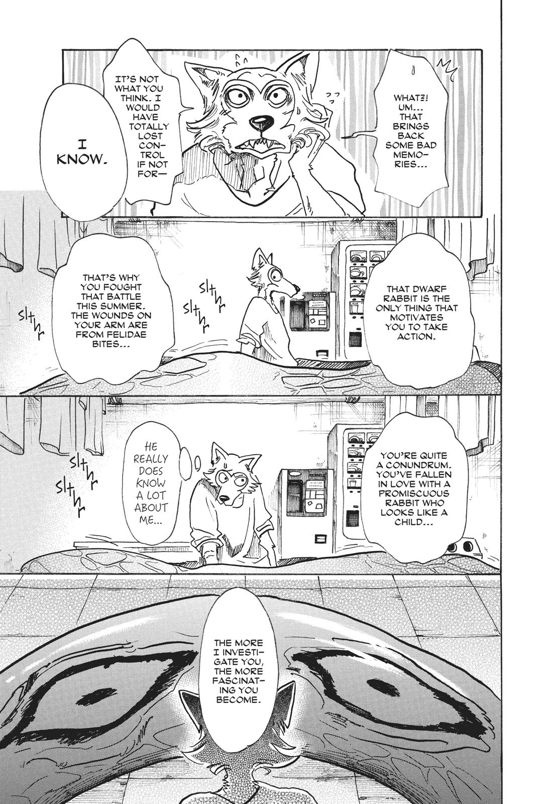 Beastars Manga, Chapter 55 image 007
