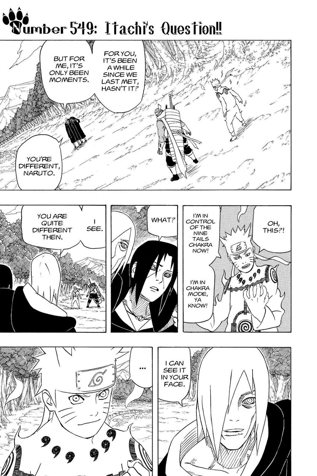 Naruto, Chapter 549 image 001
