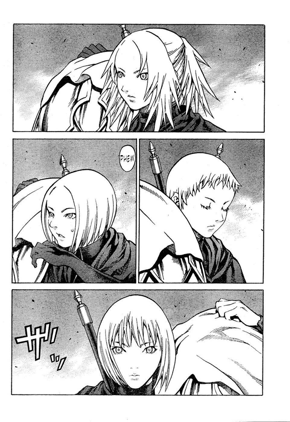 Claymore, Chapter 72 image 010