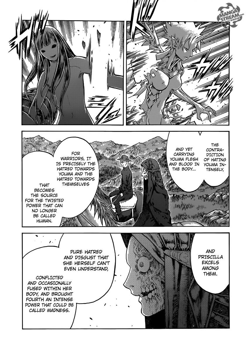 Claymore, Chapter 136 image 015