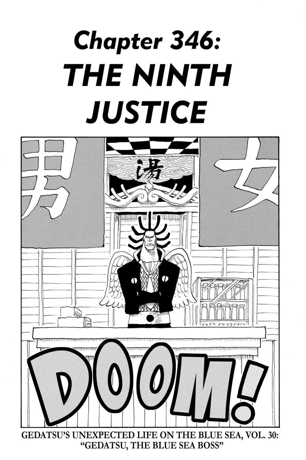 One Piece, Chapter 346 image 001