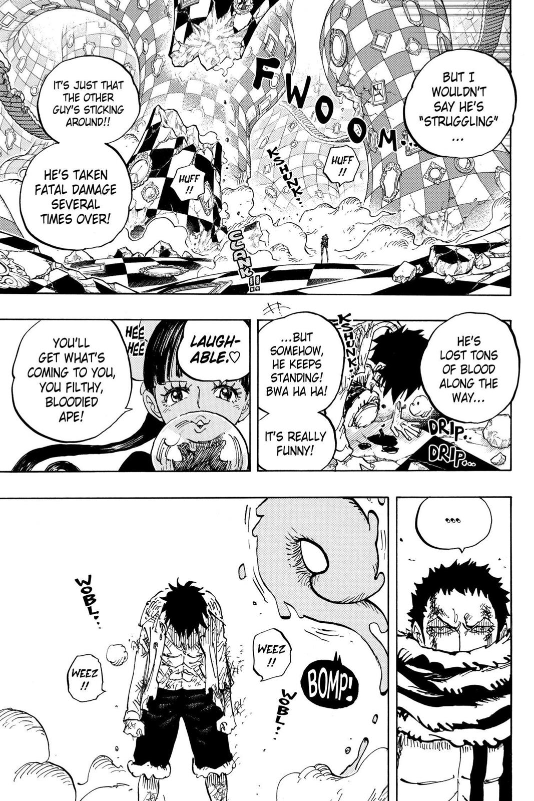 One Piece, Chapter 891 image 005