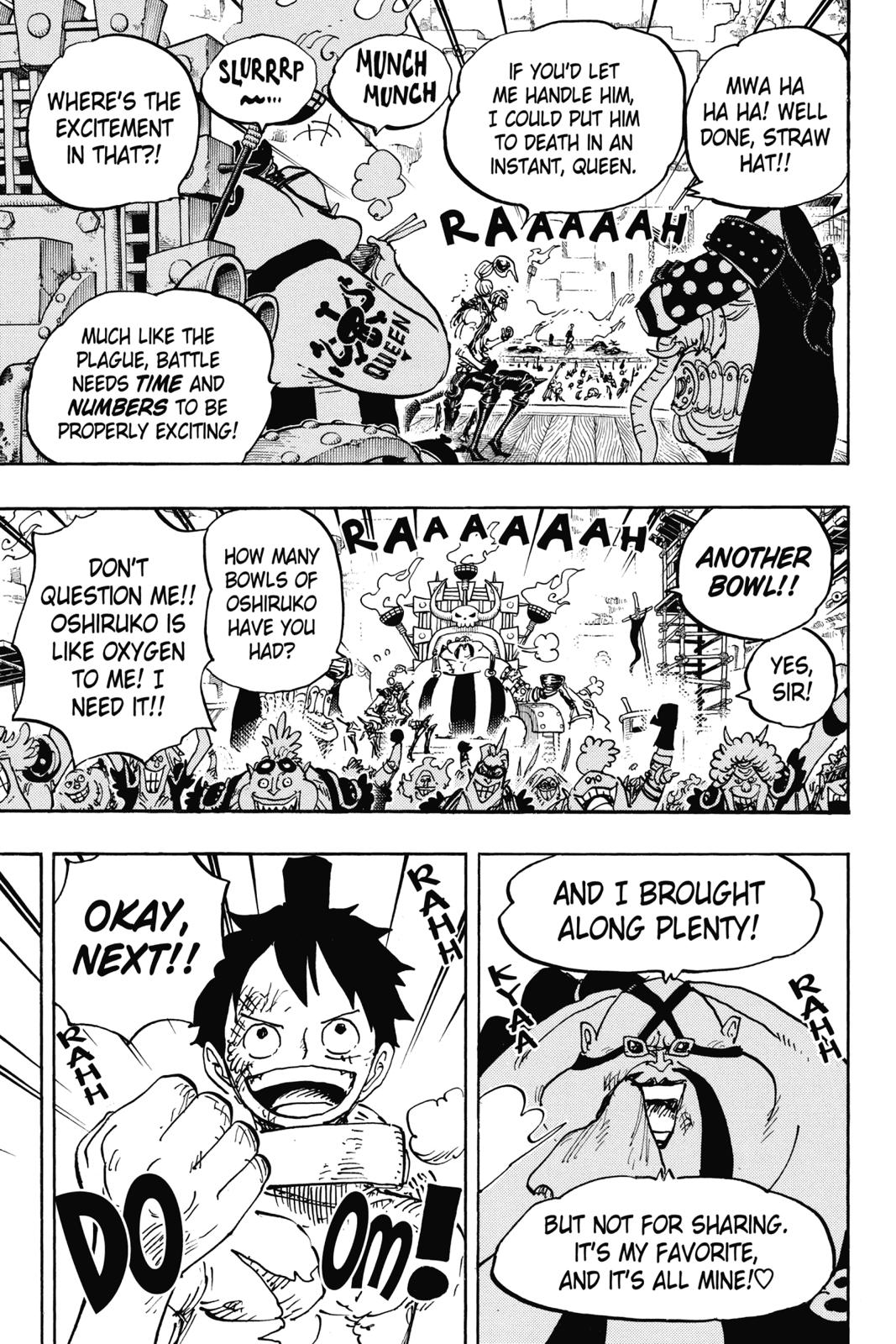 One Piece, Chapter 937 image 005