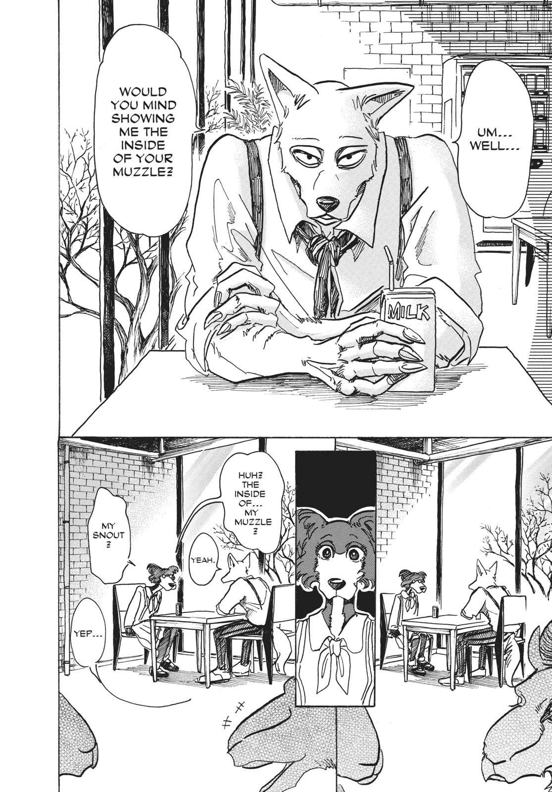 Beastars Manga, Chapter 67 image 004