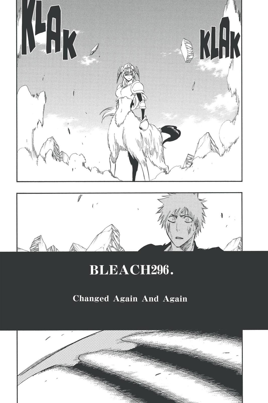 Bleach, Chapter 296 image 014