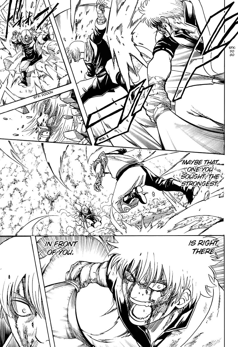 Gintama Chapter, 586 image 011