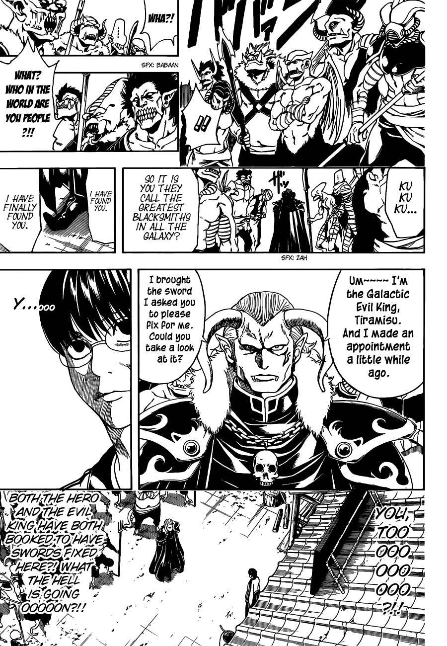 Gintama Chapter, 497 image 009