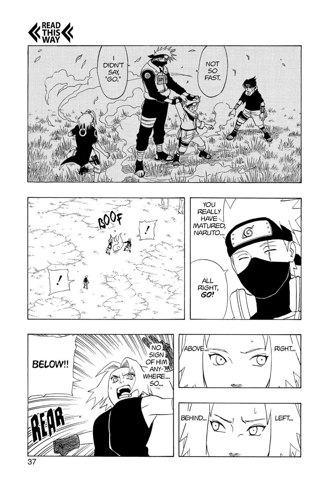 Naruto, Chapter 246 image 009