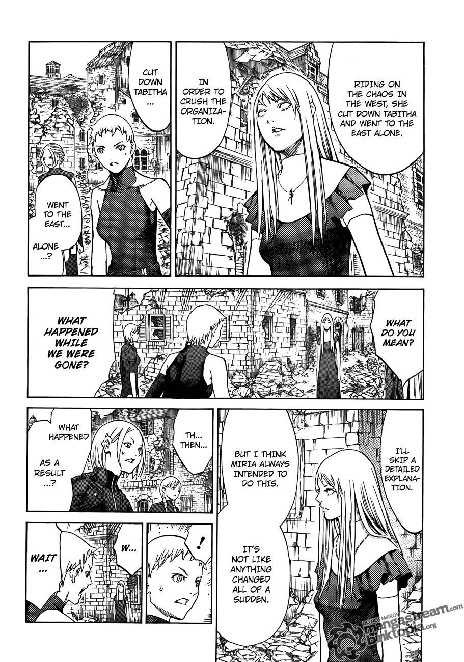 Claymore, Chapter 108 image 027