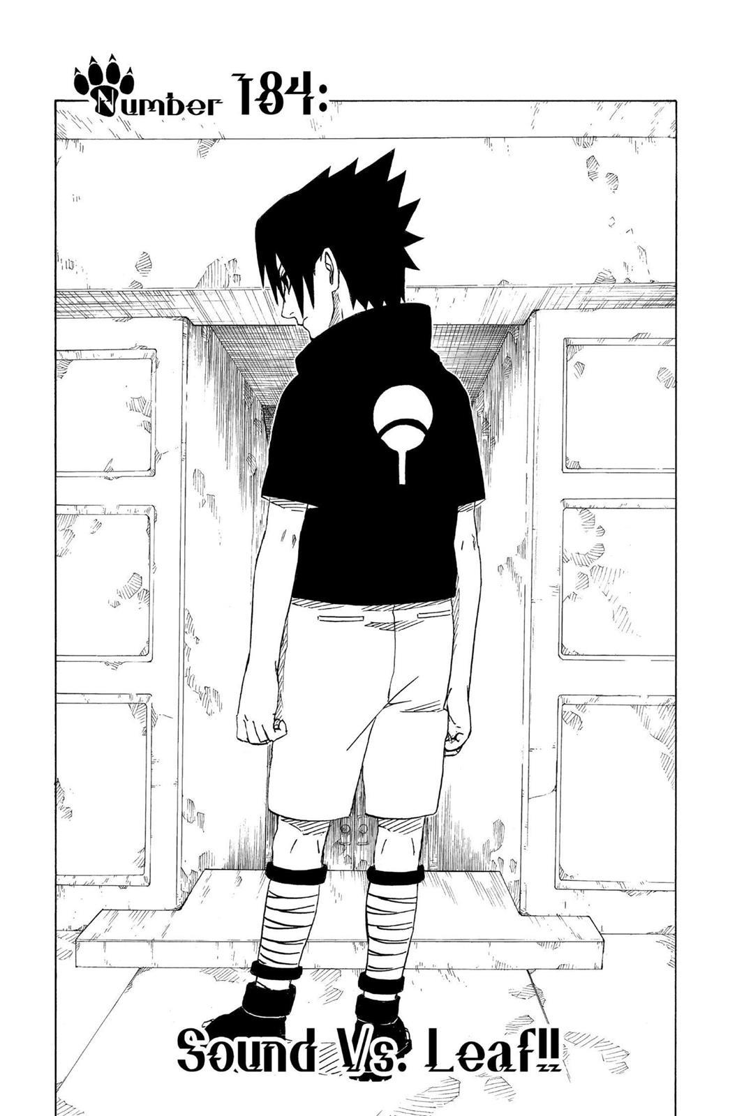 Naruto, Chapter 184 image 001