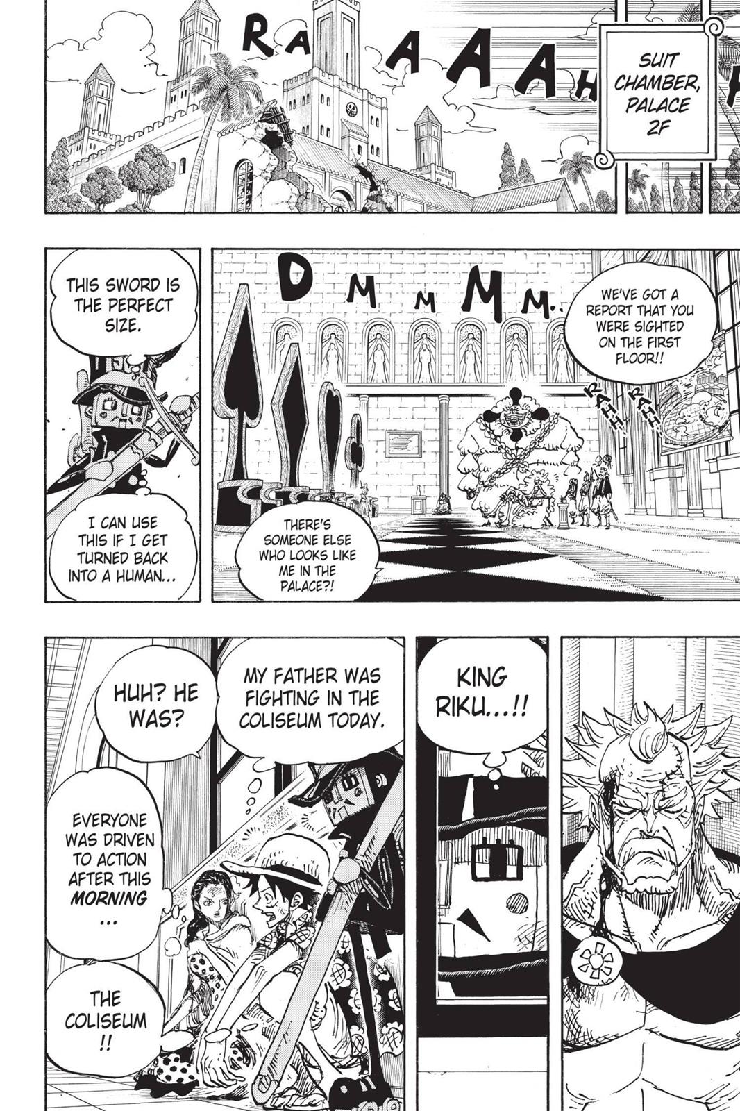 One Piece, Chapter 741 image 015