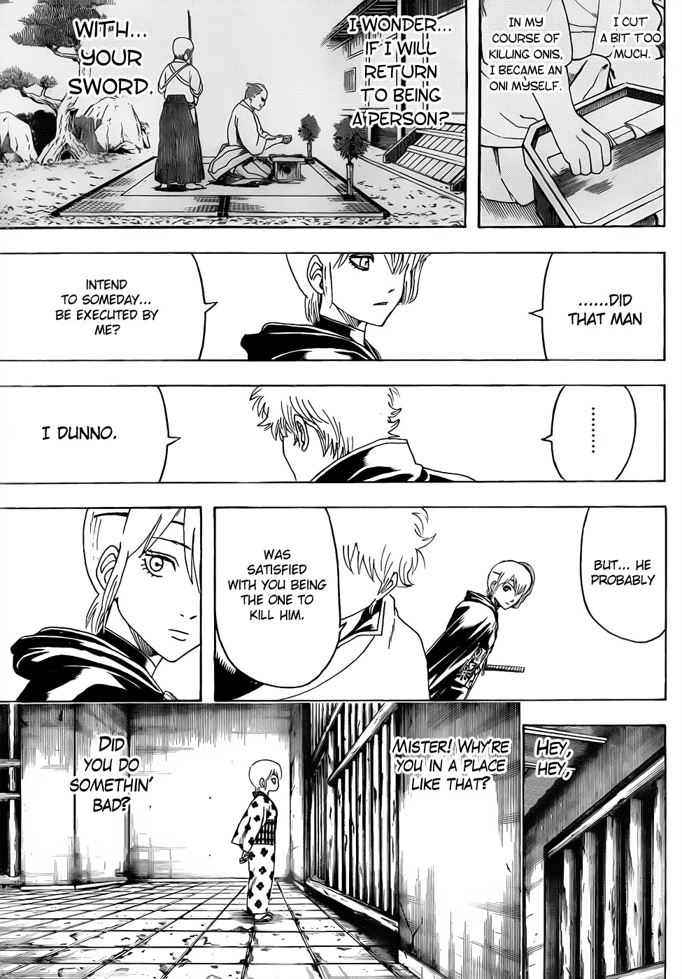 Gintama Chapter, 467 image 011