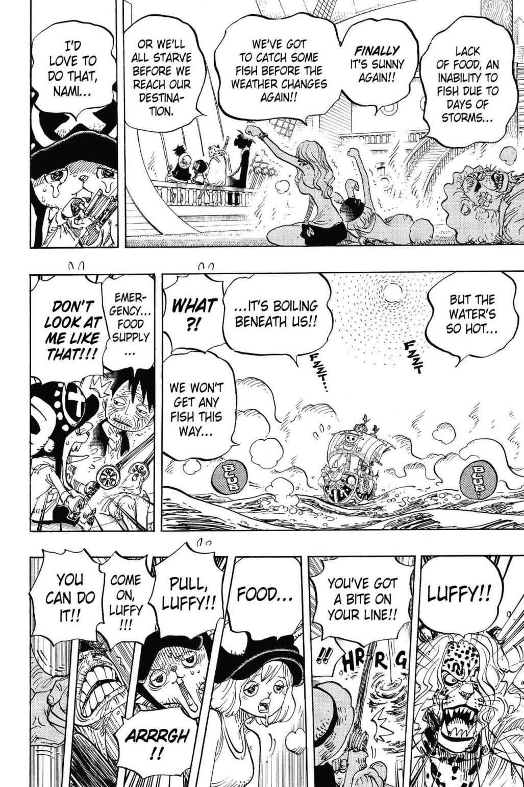 One Piece, Chapter 825 image 008